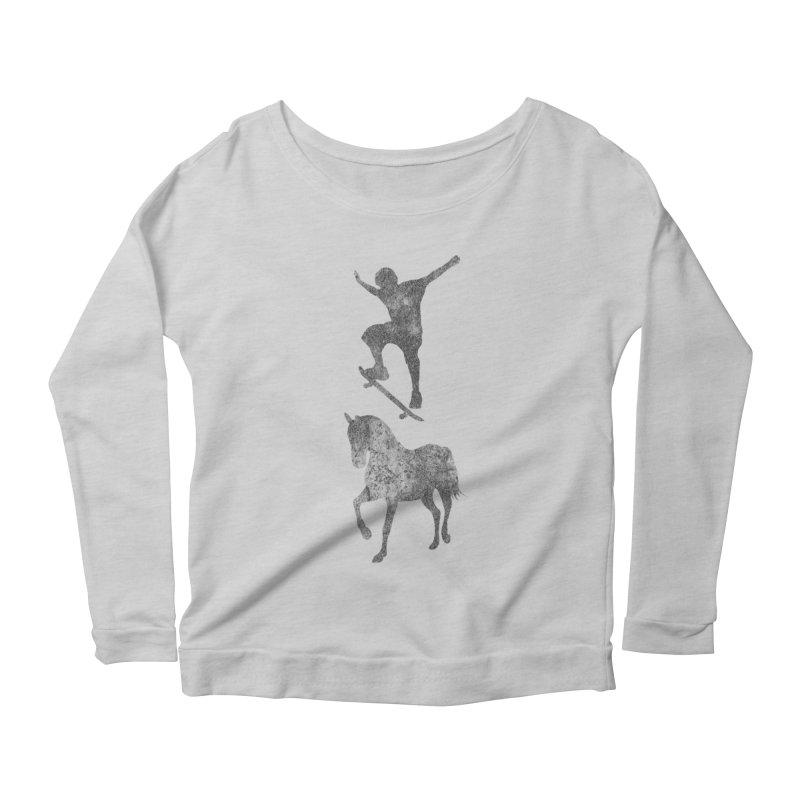 Tony Hawk Women's Scoop Neck Longsleeve T-Shirt by Misterdressup