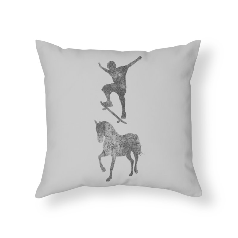 Tony Hawk Home Throw Pillow by Misterdressup