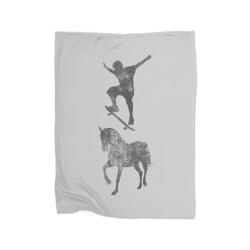 Tony Hawk Home Fleece Blanket Blanket by Misterdressup