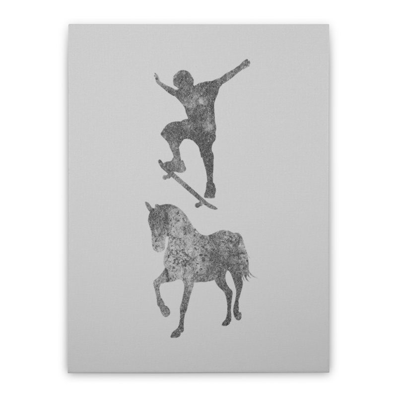 Tony Hawk Home Stretched Canvas by Misterdressup