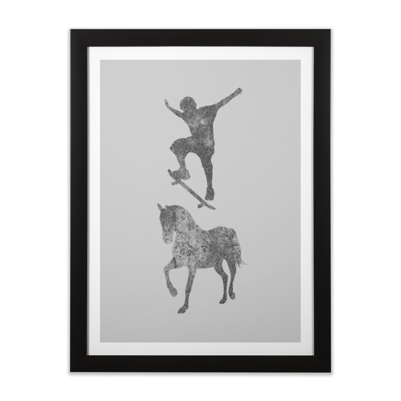 Tony Hawk Home Framed Fine Art Print by Misterdressup
