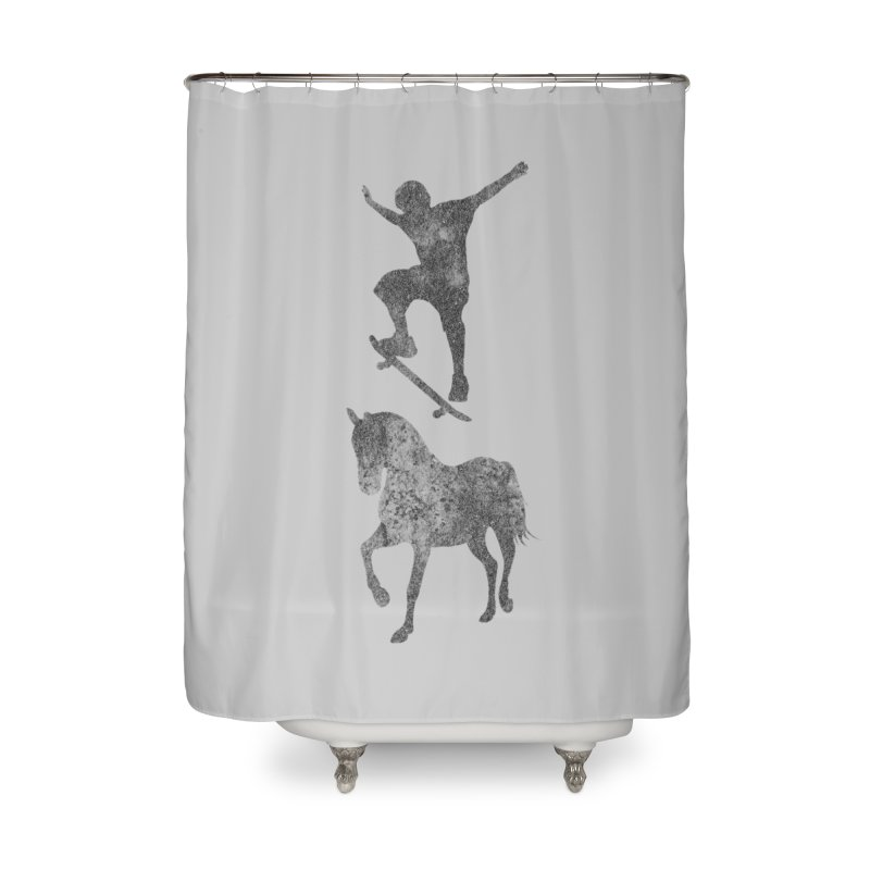 Tony Hawk Home Shower Curtain by Misterdressup