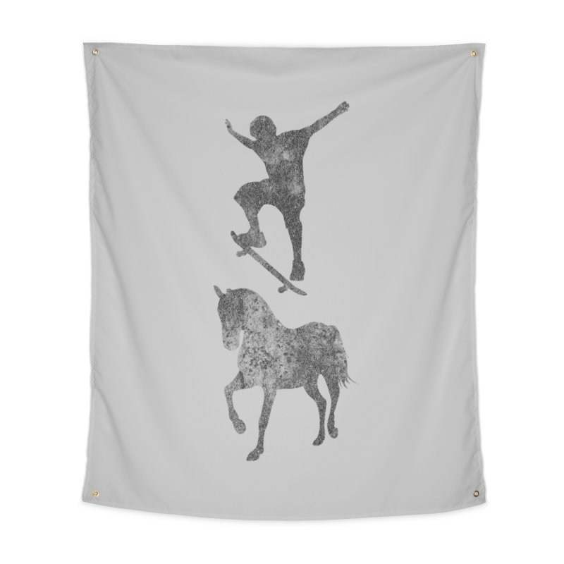 Tony Hawk Home Tapestry by Misterdressup