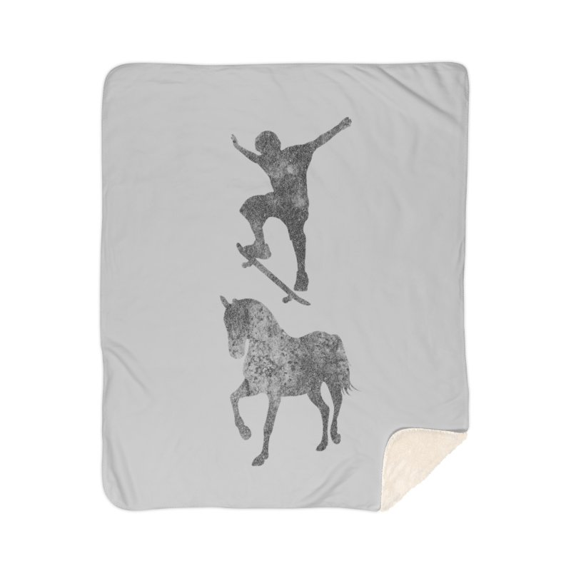 Tony Hawk Home Sherpa Blanket Blanket by Misterdressup