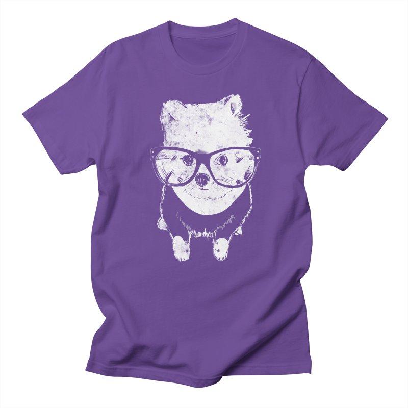 Geek Luv in Men's Regular T-Shirt Purple by Misterdressup