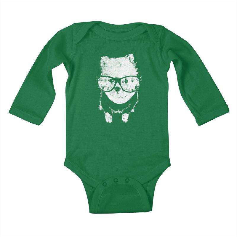 Geek Luv Kids Baby Longsleeve Bodysuit by Misterdressup