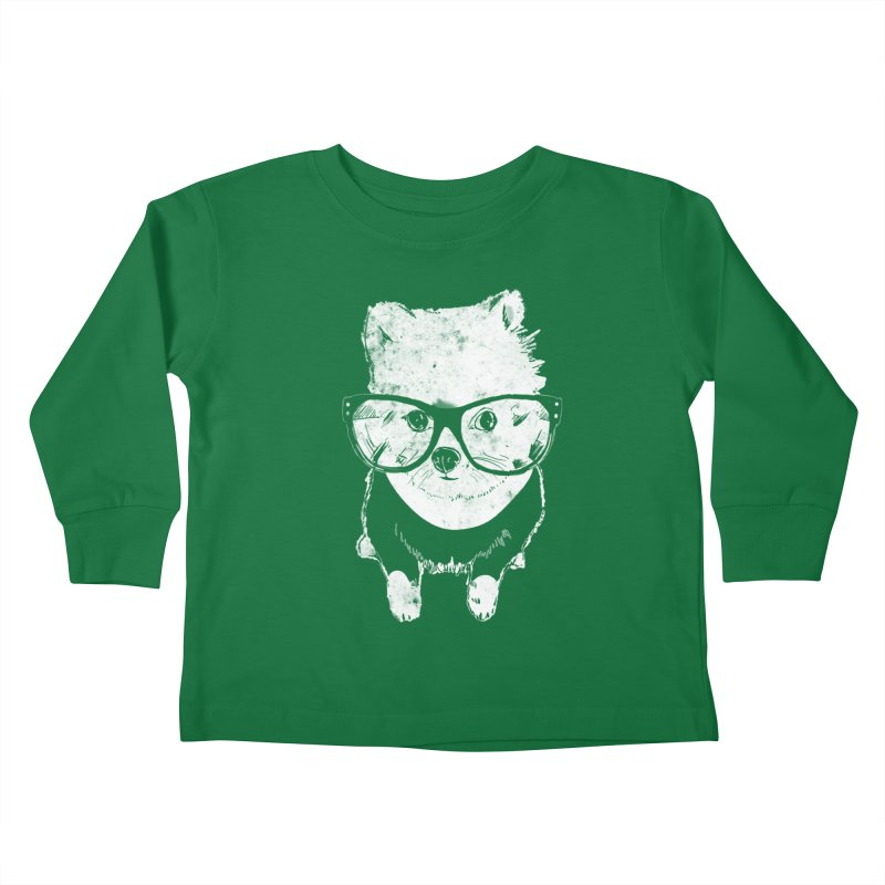 Geek Luv Kids Toddler Longsleeve T-Shirt by Misterdressup