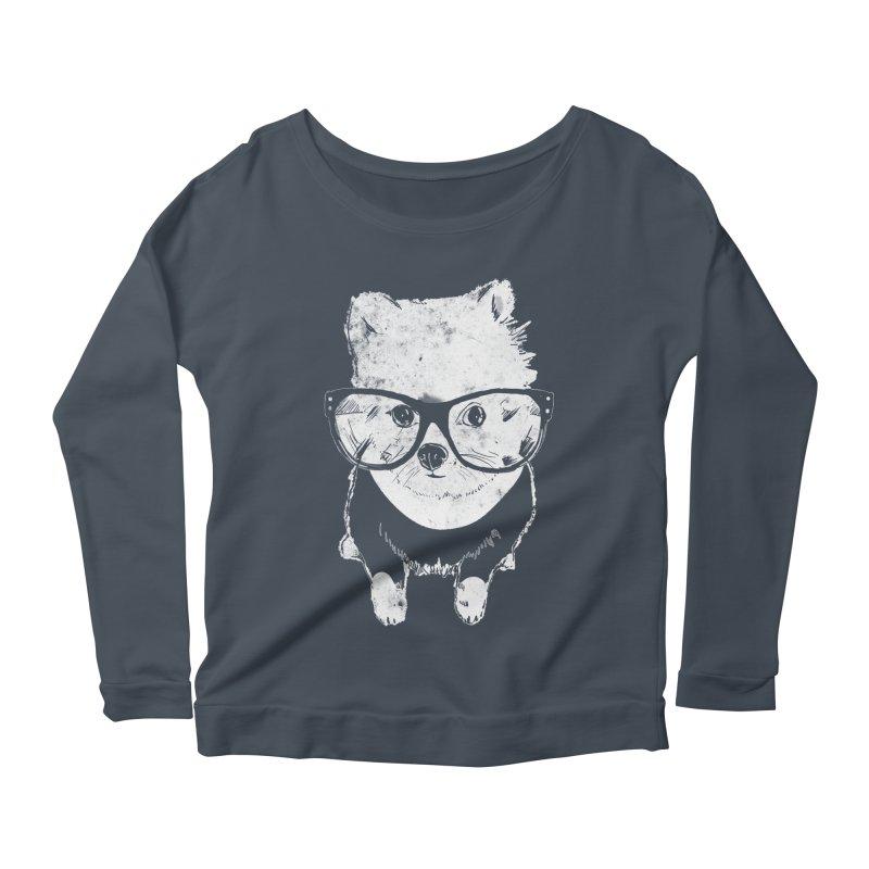 Geek Luv Women's Scoop Neck Longsleeve T-Shirt by Misterdressup