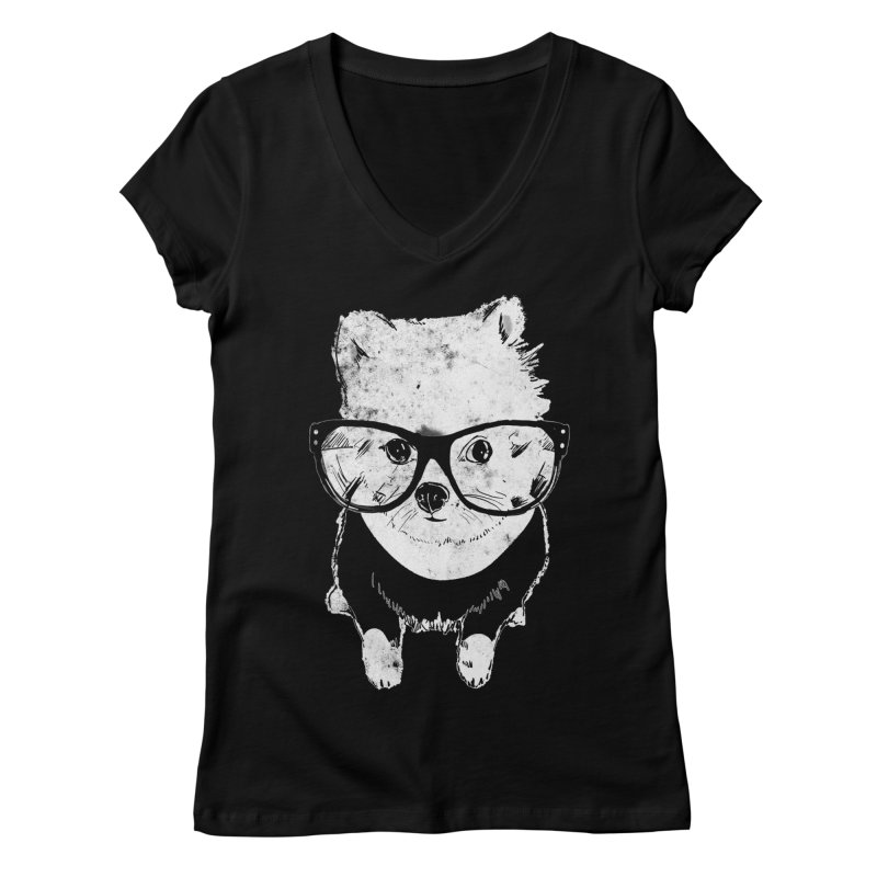 Geek Luv Women's Regular V-Neck by Misterdressup