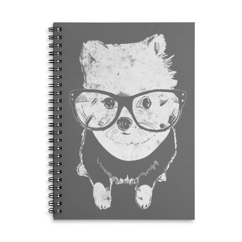 Geek Luv Accessories Lined Spiral Notebook by Misterdressup