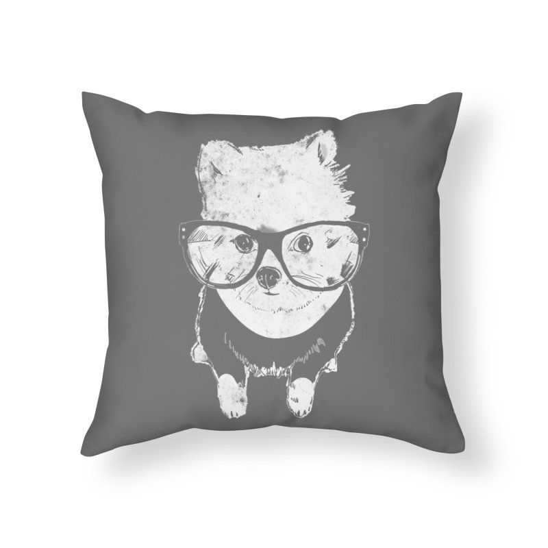 Geek Luv Home Throw Pillow by Misterdressup