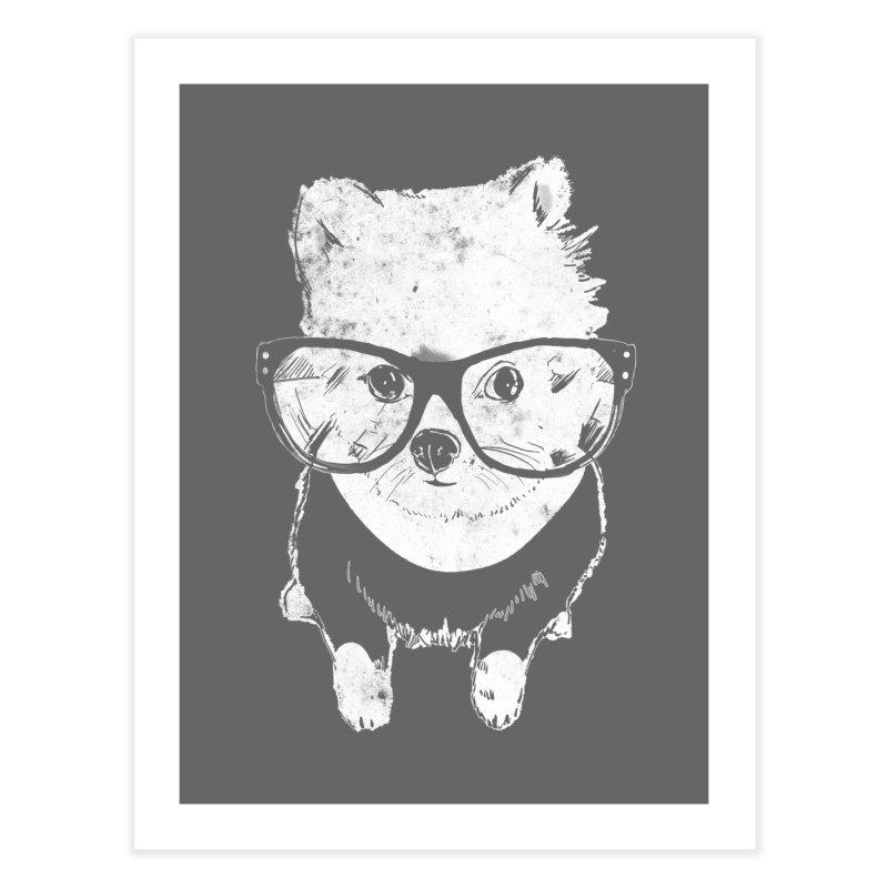 Geek Luv Home Fine Art Print by Misterdressup