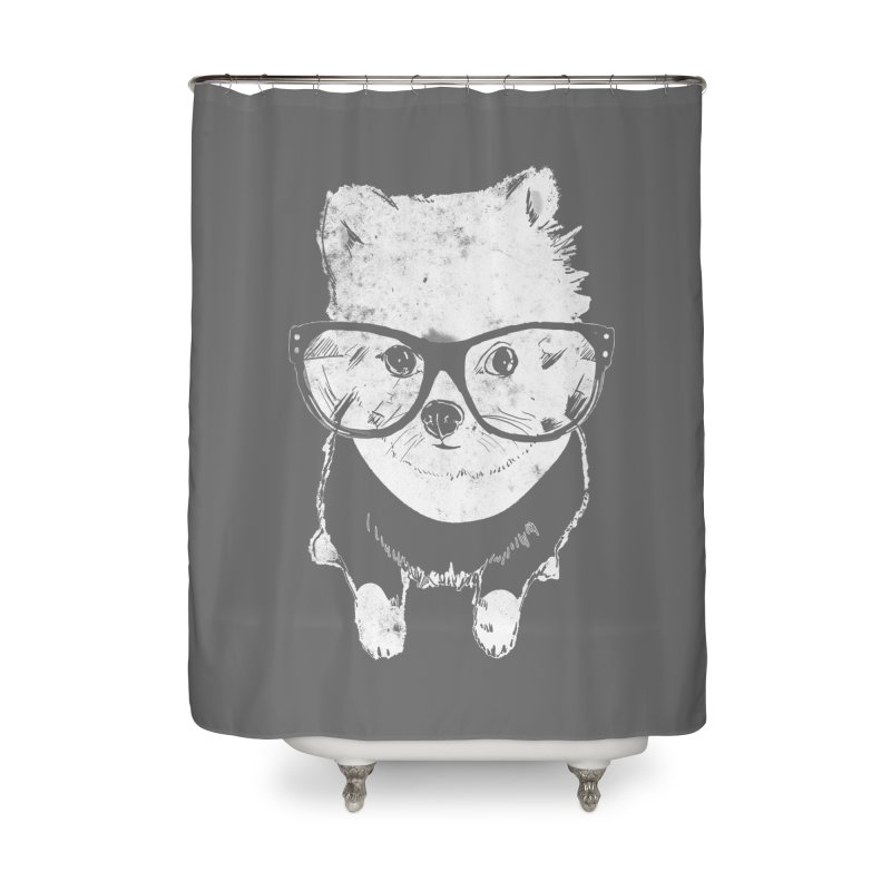 Geek Luv Home Shower Curtain by Misterdressup