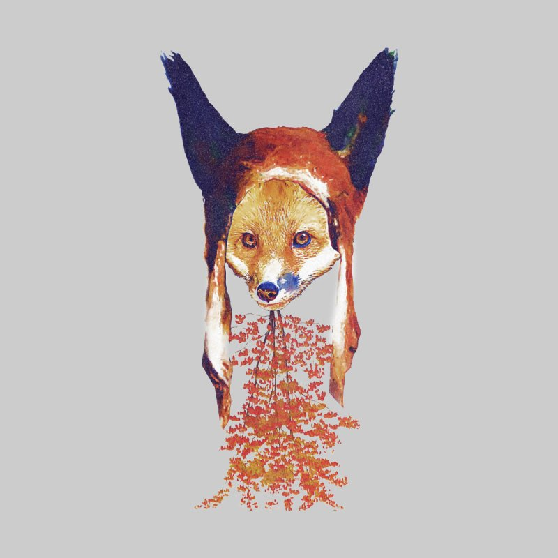 Fall Fox Home Fine Art Print by Misterdressup