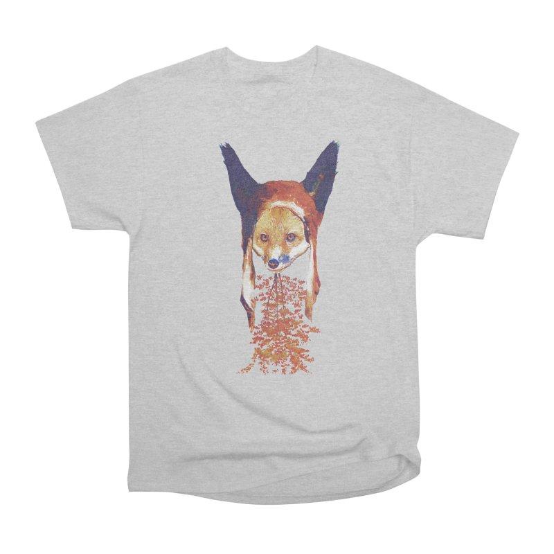Fall Fox Women's Heavyweight Unisex T-Shirt by Misterdressup