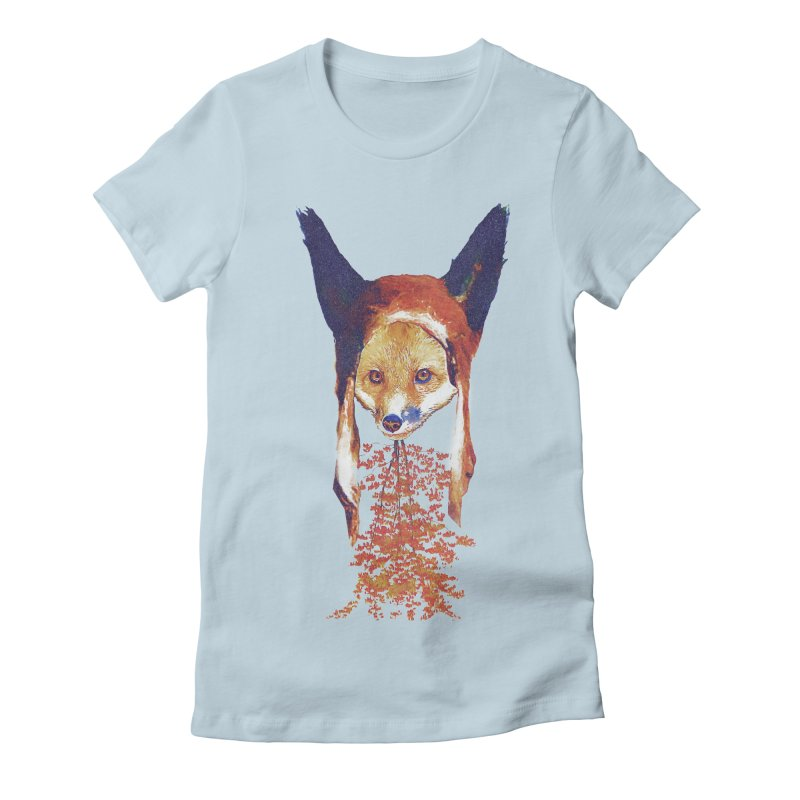 Fall Fox Women's T-Shirt by Misterdressup