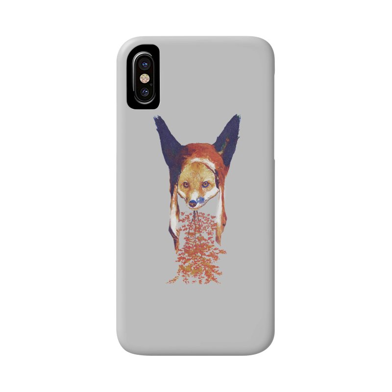 Fall Fox Accessories Phone Case by Misterdressup
