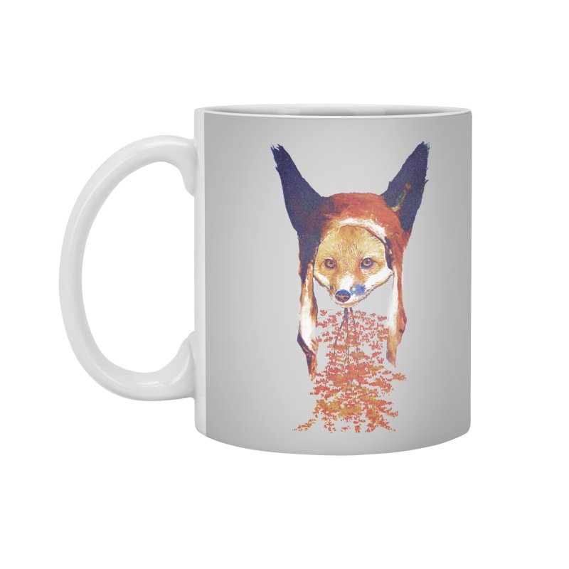 Fall Fox Accessories Mug by Misterdressup