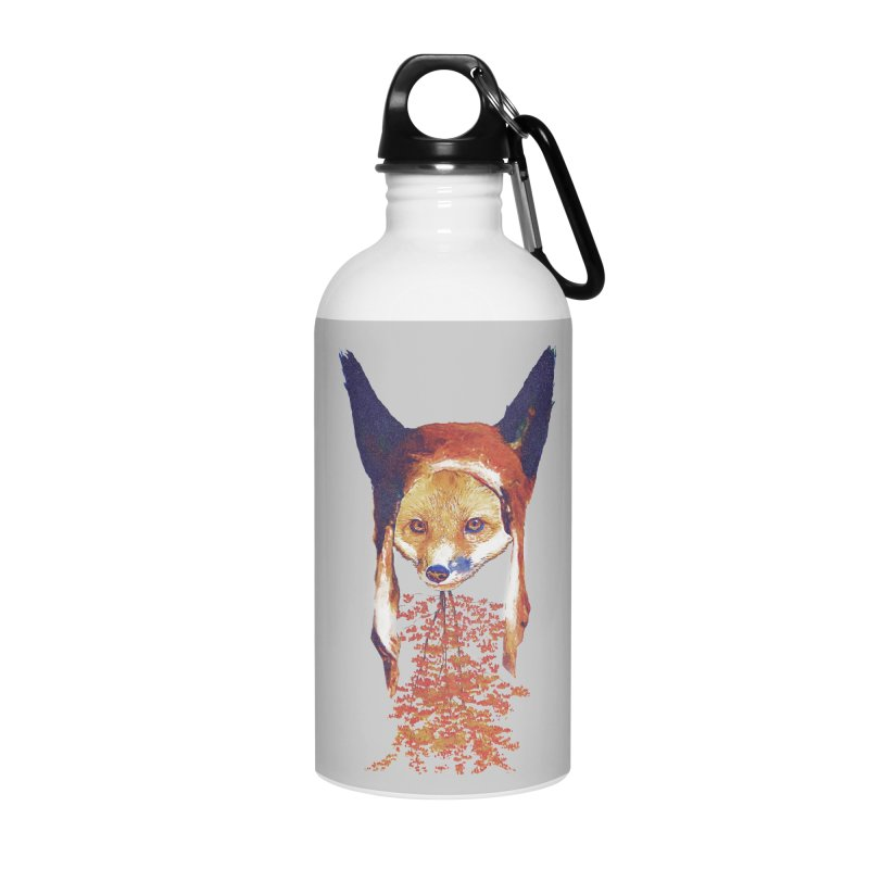 Fall Fox Accessories Water Bottle by Misterdressup