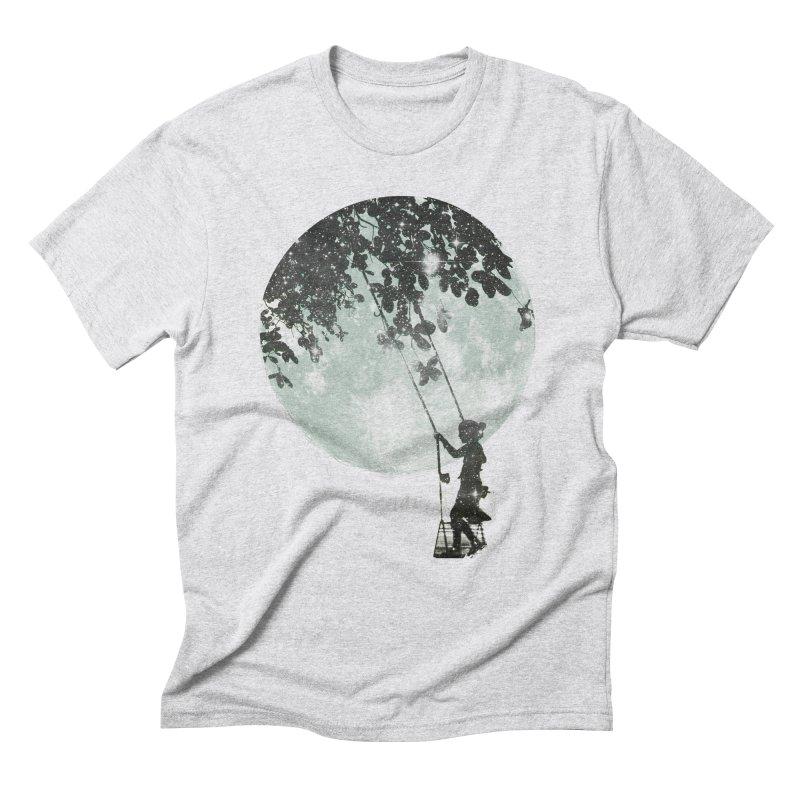 Swing Around Men's Triblend T-Shirt by Misterdressup
