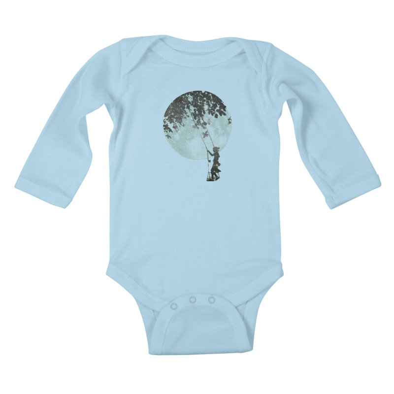 Swing Around Kids Baby Longsleeve Bodysuit by Misterdressup