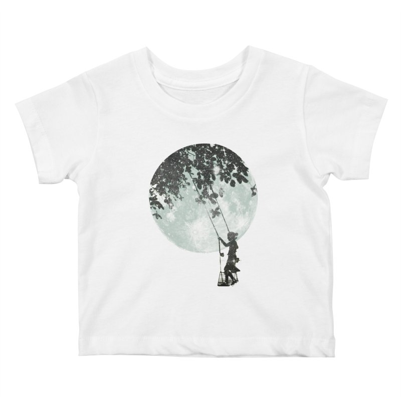 Swing Around Kids Baby T-Shirt by Misterdressup