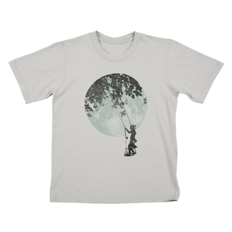 Swing Around in Kids T-Shirt Stone by Misterdressup