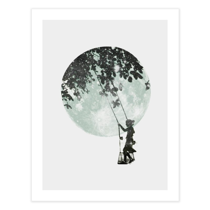 Swing Around Home Fine Art Print by Misterdressup