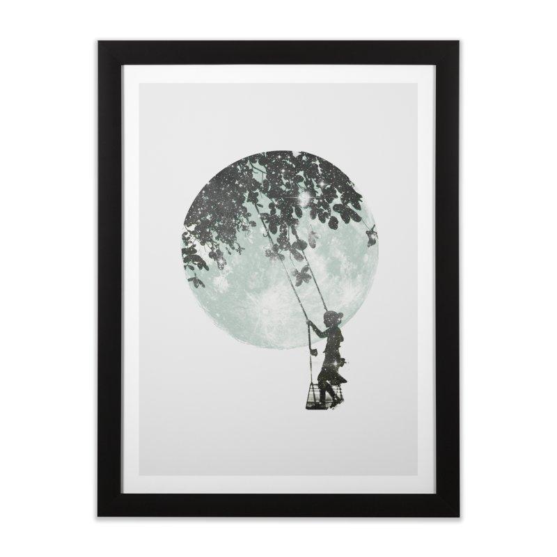 Swing Around Home Framed Fine Art Print by Misterdressup