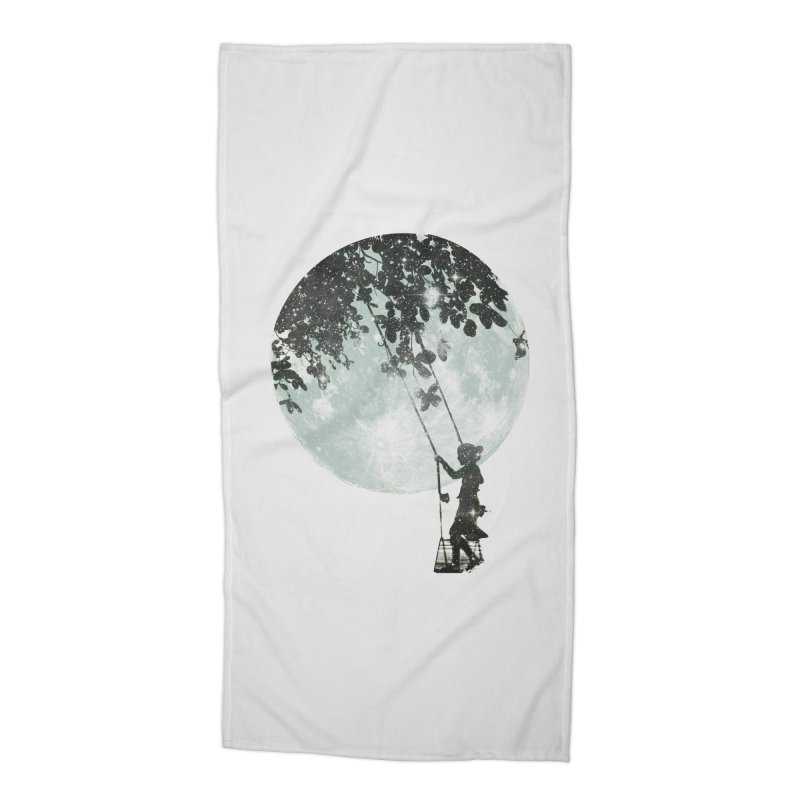 Swing Around Accessories Beach Towel by Misterdressup