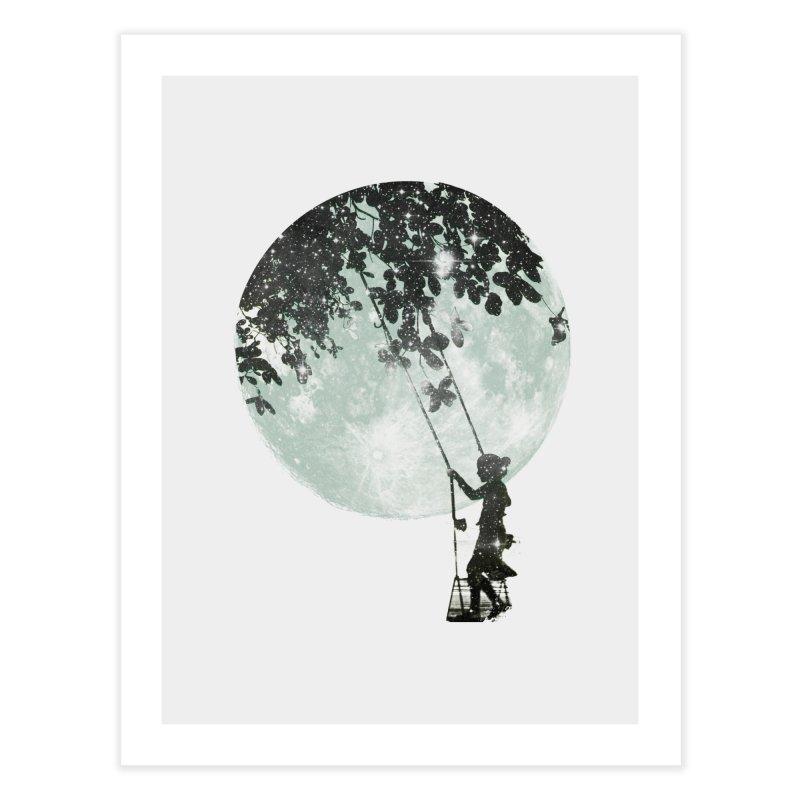 Swing Around Home Fine Art Print by Misterdressup