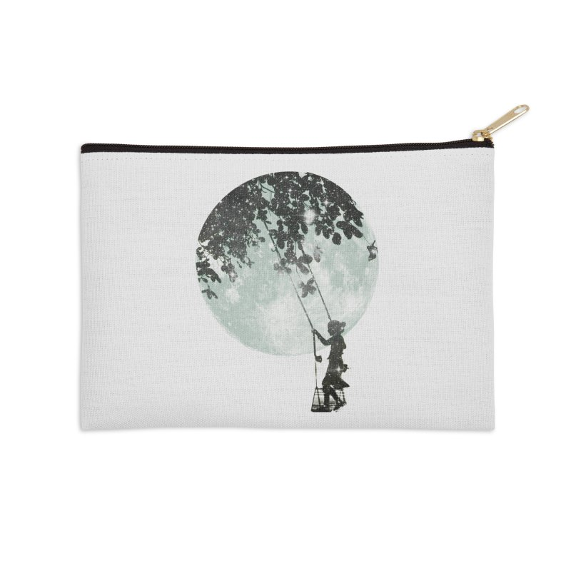 Swing Around Accessories Zip Pouch by Misterdressup