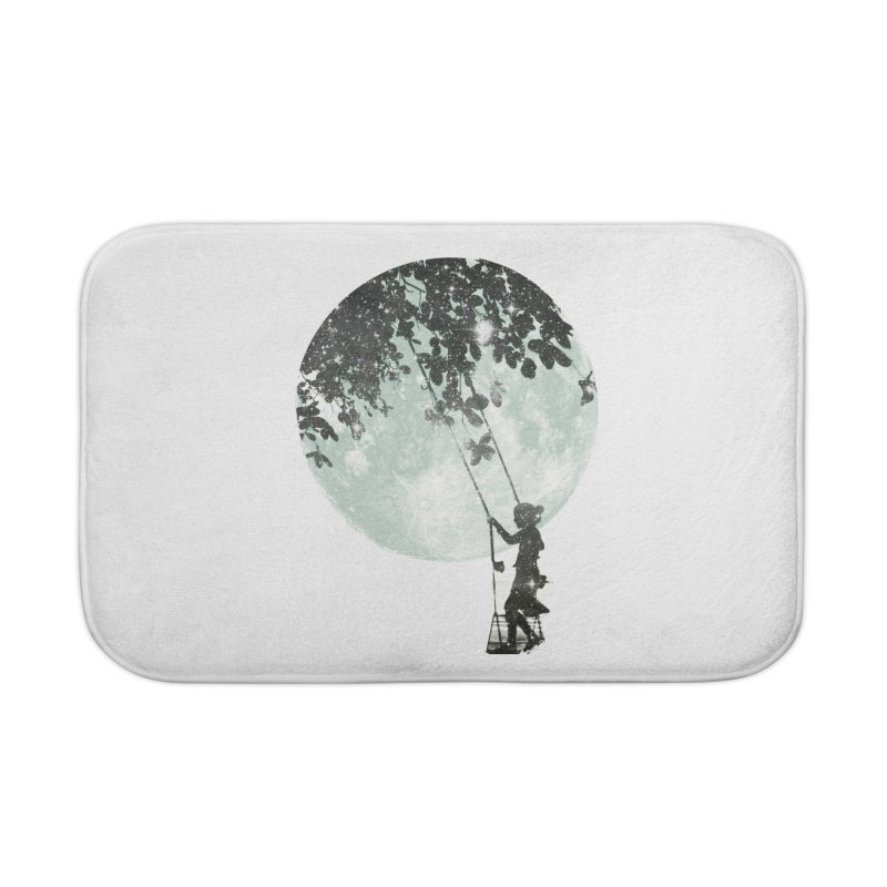Swing Around Home Bath Mat by Misterdressup