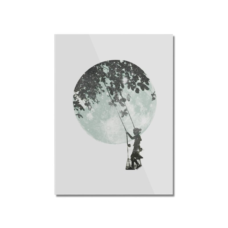 Swing Around Home Mounted Acrylic Print by Misterdressup