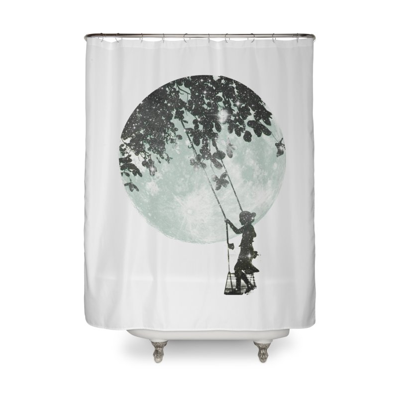 Swing Around Home Shower Curtain by Misterdressup