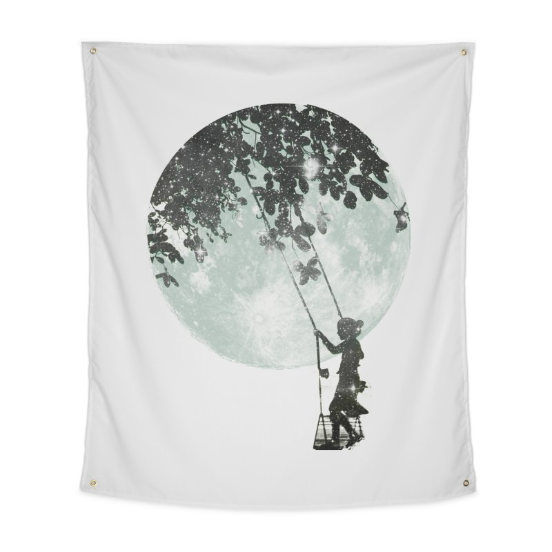 Swing Around Home Tapestry by Misterdressup