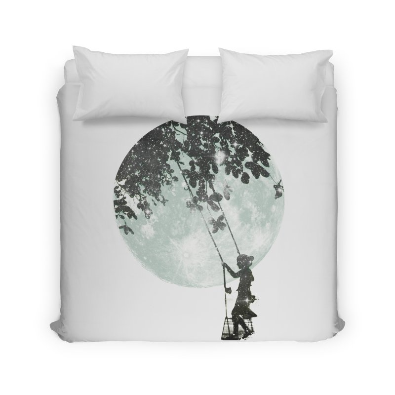 Swing Around Home Duvet by Misterdressup
