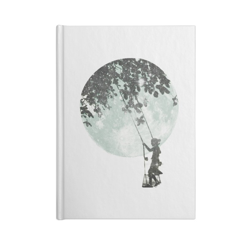 Swing Around Accessories Blank Journal Notebook by Misterdressup