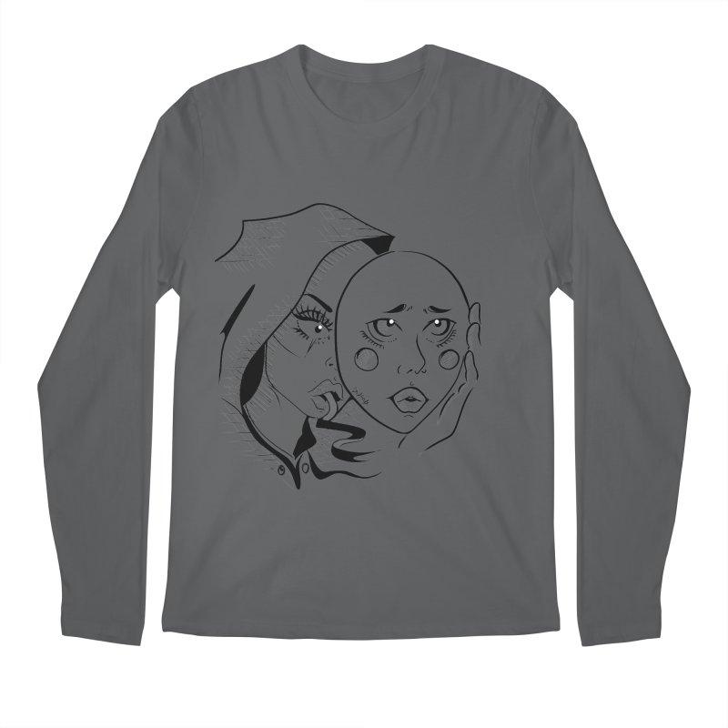 Ta A Men's Longsleeve T-Shirt by Misterdressup
