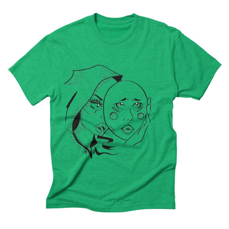 Ta A Men's Triblend T-Shirt by Misterdressup