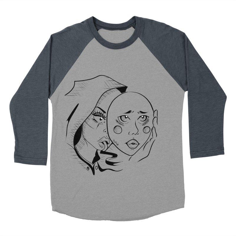 Ta A Men's Baseball Triblend Longsleeve T-Shirt by Misterdressup