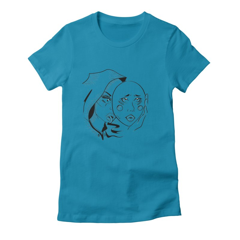 Ta A Women's Fitted T-Shirt by Misterdressup