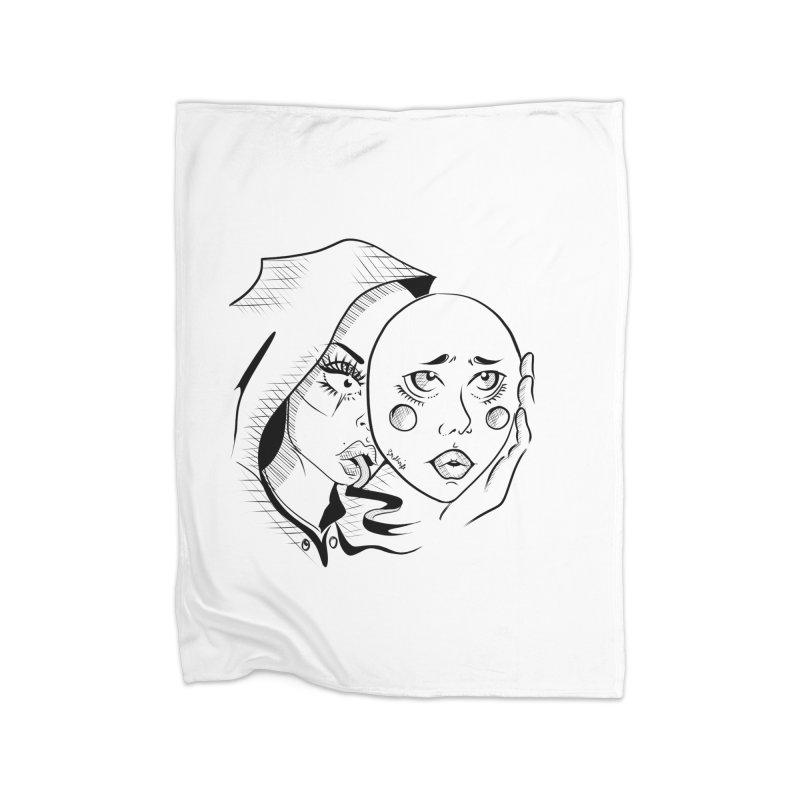 Ta A Home Fleece Blanket Blanket by Misterdressup