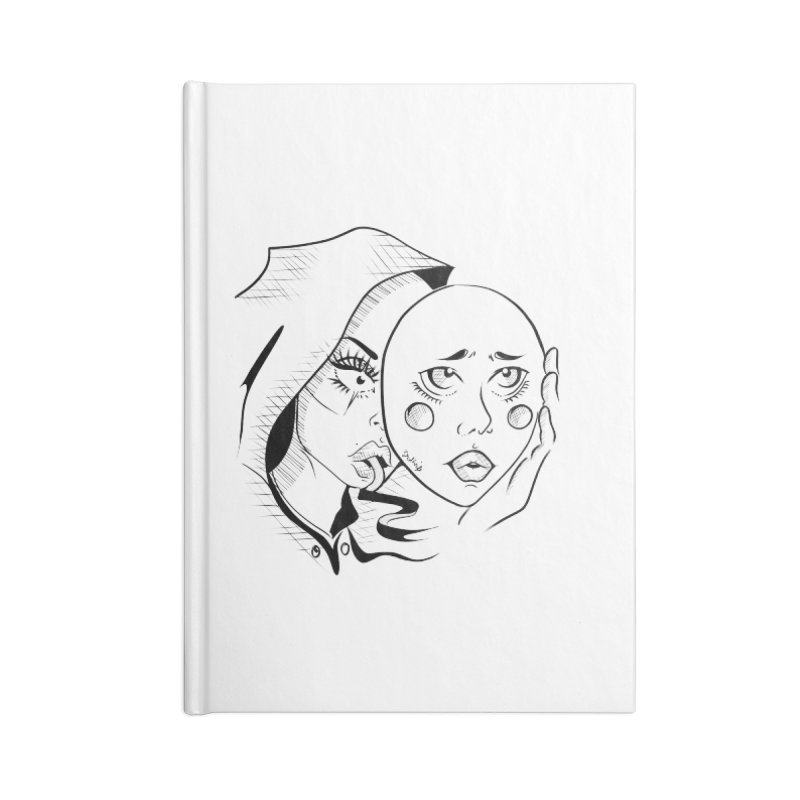 Ta A Accessories Lined Journal Notebook by Misterdressup