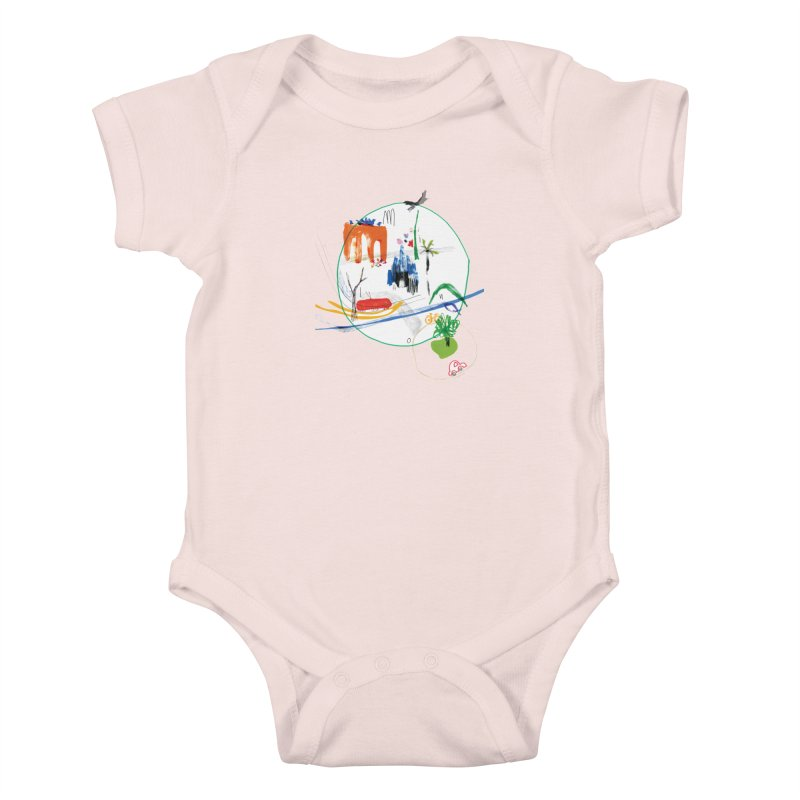SeSe, Color Things. Kids Baby Bodysuit by Misterdressup