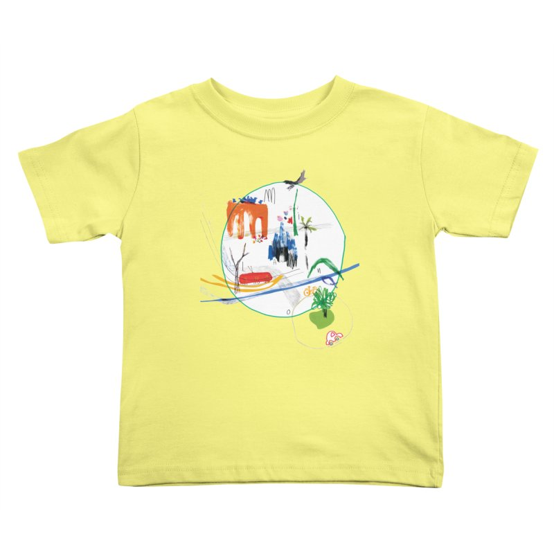 SeSe, Color Things. Kids Toddler T-Shirt by Misterdressup