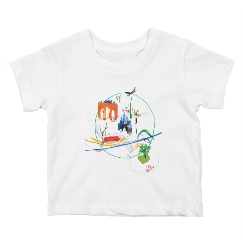SeSe, Color Things. Kids Baby T-Shirt by Misterdressup