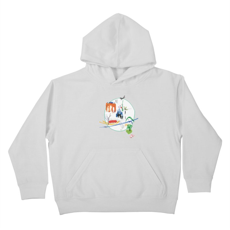 SeSe, Color Things. Kids Pullover Hoody by Misterdressup