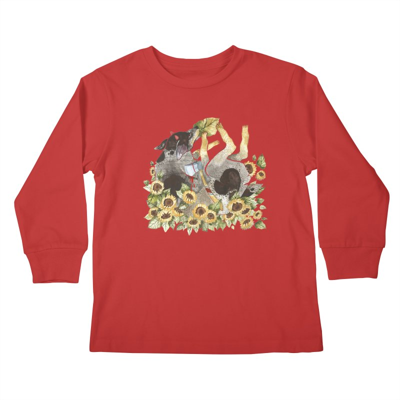 Alison Polston Kids Longsleeve T-Shirt by Misterdressup