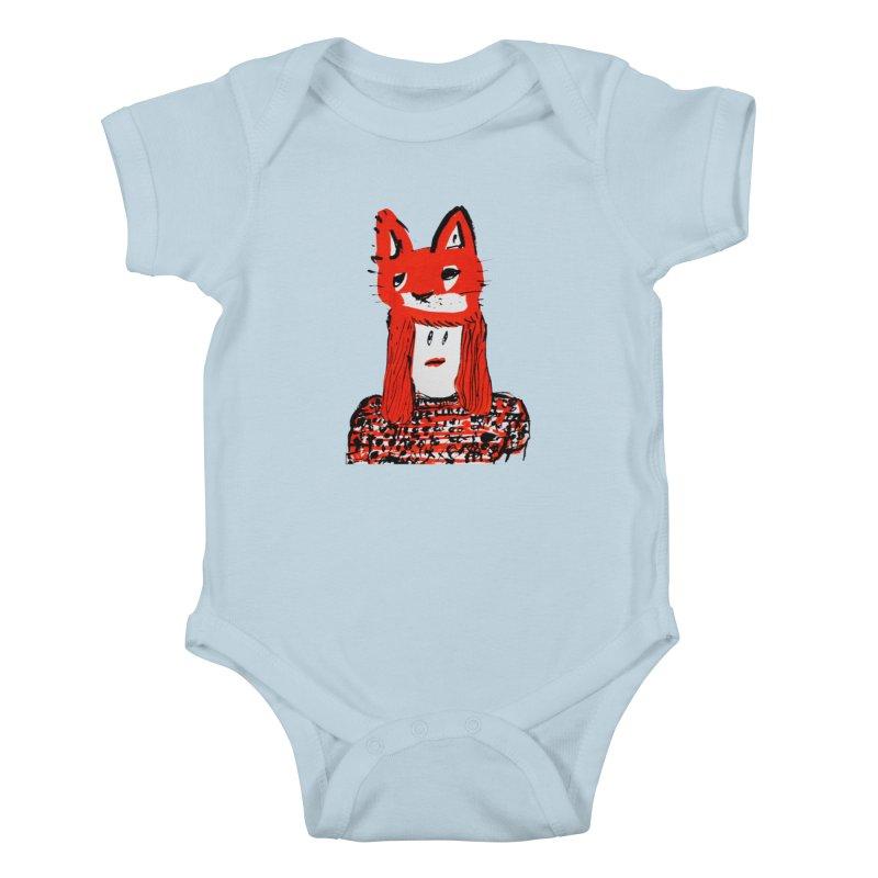 Koudai  Zeniya Kids Baby Bodysuit by Misterdressup